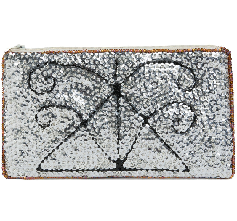 Agasou Beaded Clutch