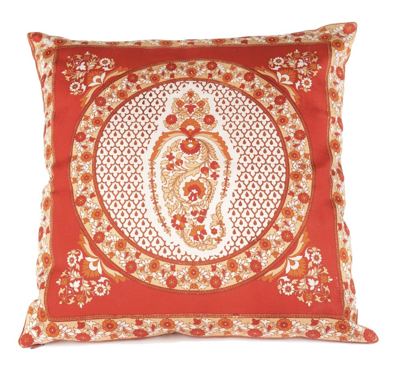 """Rupaleem"" Silk Pillow"