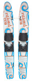 Full Throttle Trainer Skis - Up to 80 LBS
