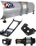 ATV Complete Plow Kit w/ 2500 lb Winch and Steel Straight Blade