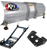 ATV Half Plow Kit with Steel Straight Blade