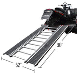 "Caliber Ramp-Pro Universal ATV and Snowmobile Ramp (52"" Wide, 90"" Long)"