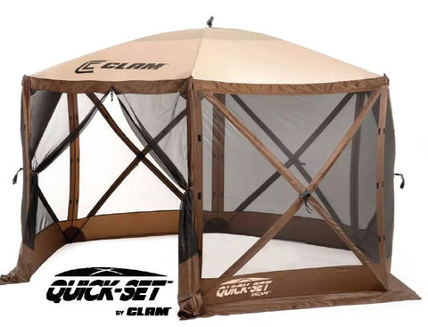 Quick-Set Escape Screen Shelter - Brown/Tan