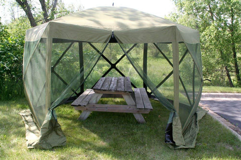 Quick-Set Escape Screen Shelter - Green/Black