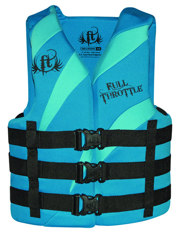 Full Throttle Adult Rapid-Dry Vest