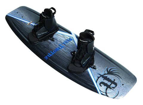 Full Throttle Aqua Extreme Wakeboard With Lace Up Boots - 155 LBS & Up