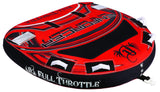 "Full Throttle Enforcer 60"" Fully D-Shape Tube - 1 to 2 Riders"