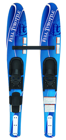 Full Throttle Shaped Junior Skis
