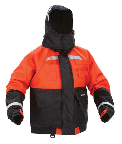Kent Hi Vis Deluxe Flotation Jacket With Retain Hood