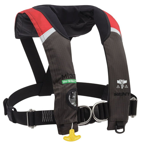 Kent M-33 Manual Inflatable Life Jacket w/Harness