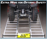 "7.5'  Tri-Fold (90"" Long x 55"" Wide) ATV Ramp 1300 lb Capacity"