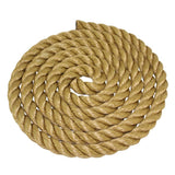 Synthetic TAN POLY Manila Rope - aka Pro Manila UnManila - Sold By the Foot
