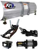UTV Complete Plow Kit w/ 3500 lb Winch and Steel Straight Blade