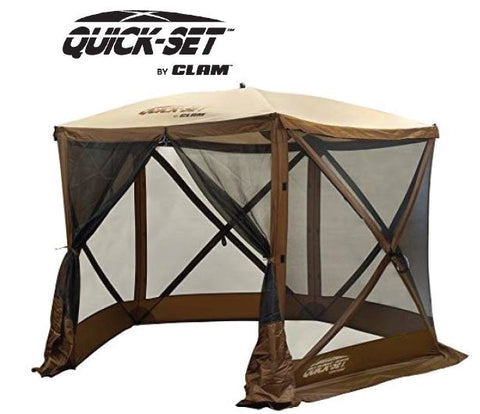 Quick-Set Venture Screen Shelter - Brown/Tan