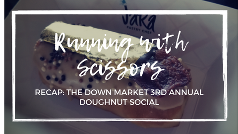 Running with Scissors Art of Doughnut Social
