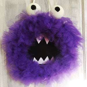 Oct 12 Monster Mash: Halloween Wreath Tutorial