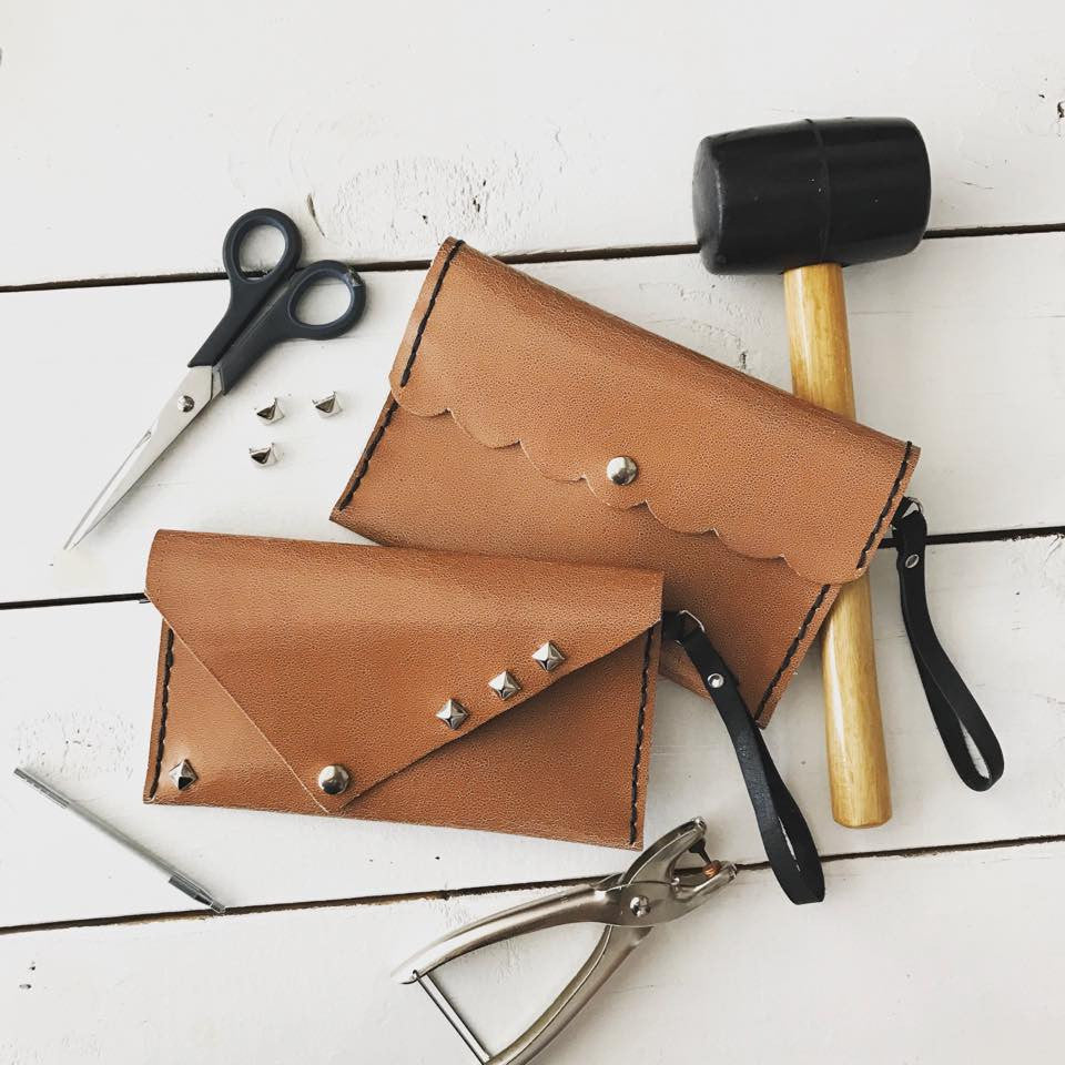 May 13 Mother's Day Weekend Leather Clutch Workshop