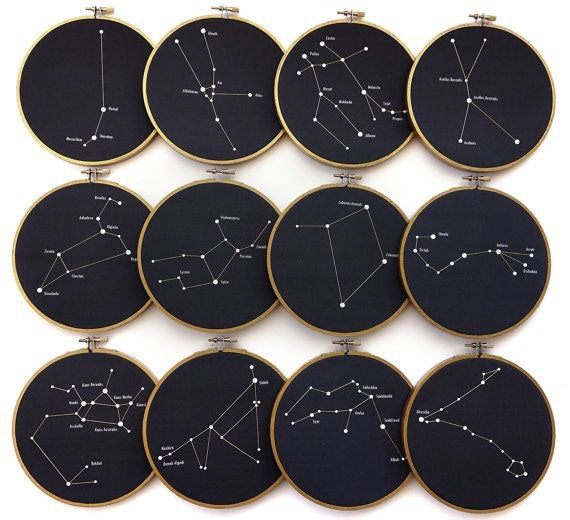 Zodiac Sign Hand Embroidery Workshop