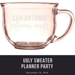 San Antonio Planner Nerds Planner Party and Etching Workshop