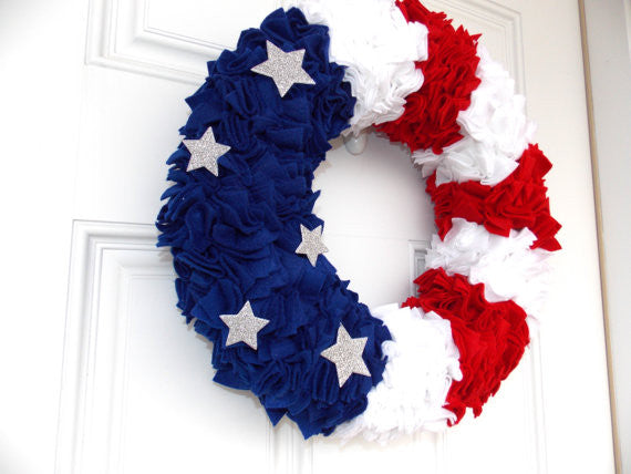 American Woman: 4th of July Wreath Workshop