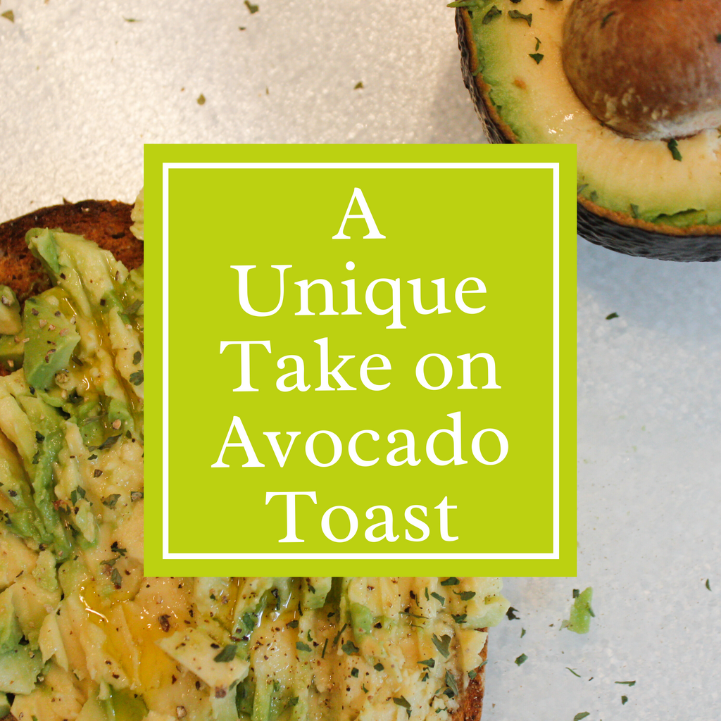 A Unique Take on Avocado Toast