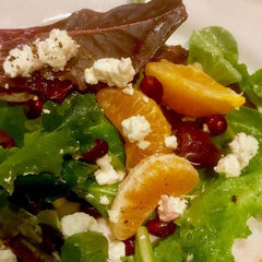 tangerine winter salad with marcona almonds