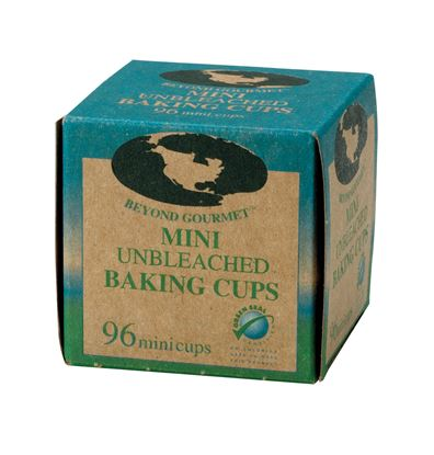 Unbleached Paper Baking Cups