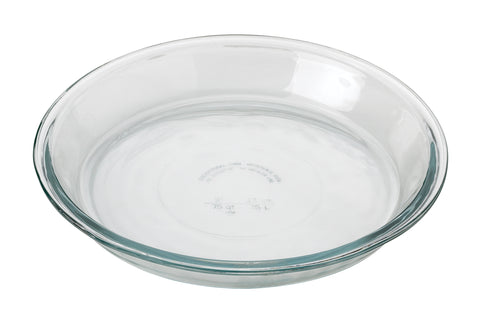 "9"" Glass Pie Pan"