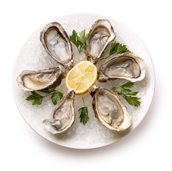 Oyster Serving Plate - 9""