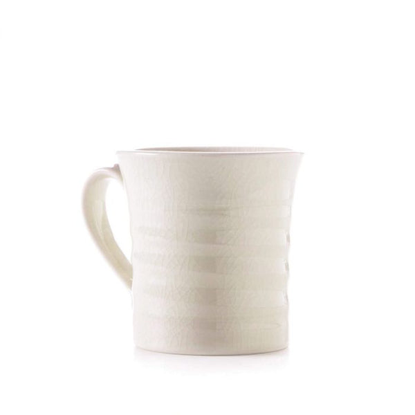 Belmont Mug - Crackle Ivory