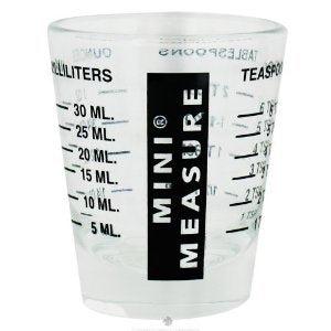 Mini Measure/Shot Glass