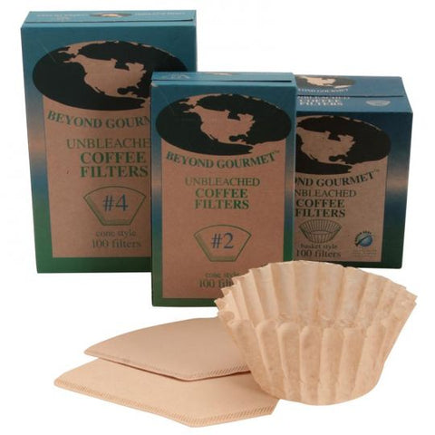 Unbleached Coffee Filters