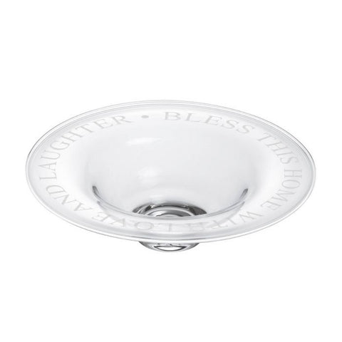 """Bless This Home"" Engraved Celebration Bowl"