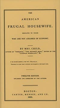 The American Frugal Housewife Handbook
