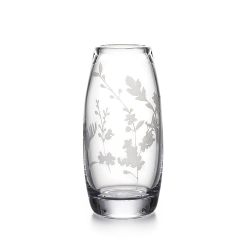 Engraved Floral Addison Vase