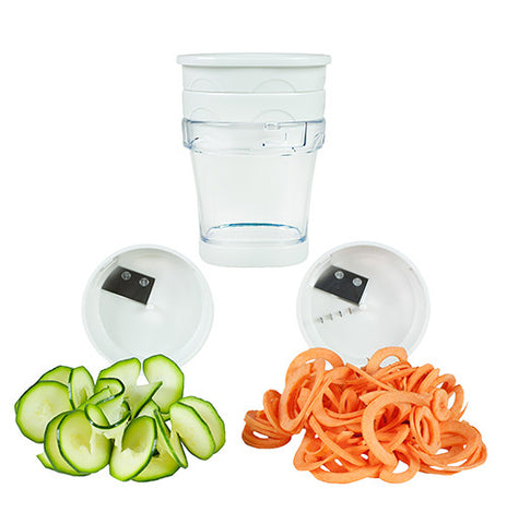 Two-Blade Handheld Spiralizer
