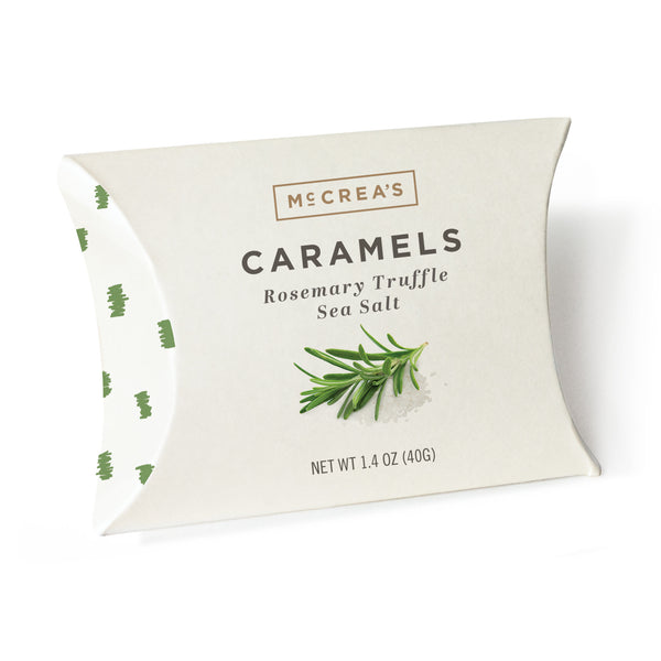 Rosemary Truffle Sea Salt Caramels