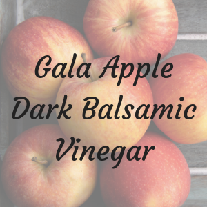 Gala Apple Dark Balsamic Vinegar