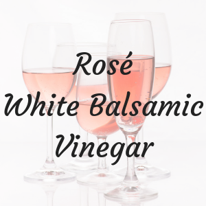 Pinot Nero Rosé White Balsamic Vinegar