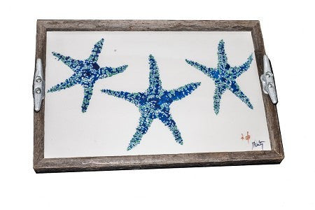 Nautical Driftwood Trays