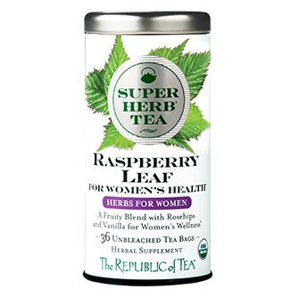 Organic Raspberry Leaf SuperHerb Tea