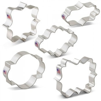 Plaque Cookie Cutters