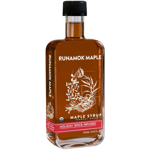 Holiday Spice Infused Maple Syrup