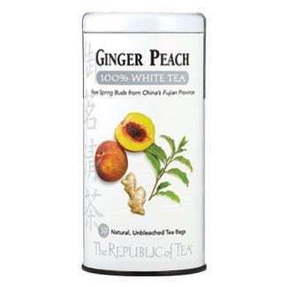 Ginger Peach White Tea