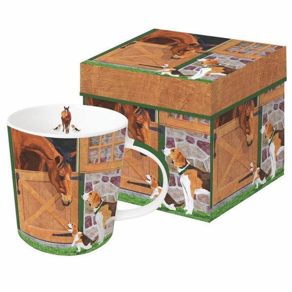 Horse & Hounds - Mug Gift Box