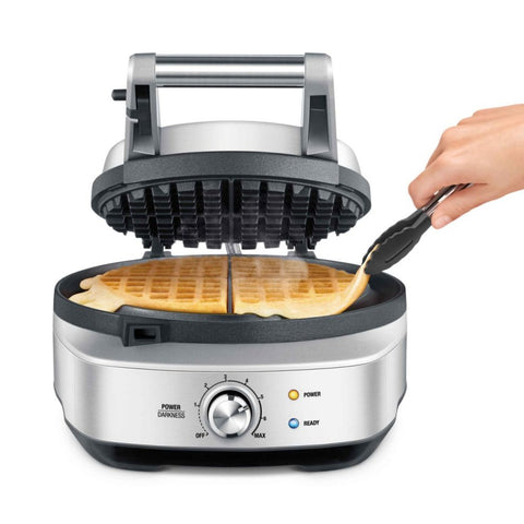 Classic Round No-Mess Waffle Maker