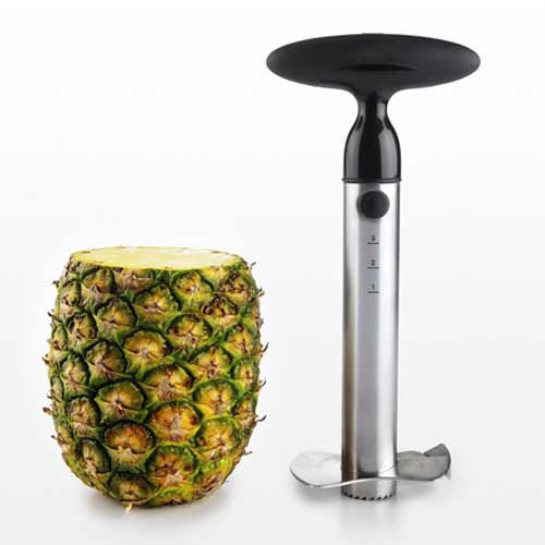 Ratcheting Pineapple Slicer