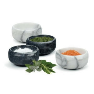 Marble Herb and Salt Bowls