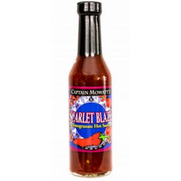 Scarlet Blaze Pomegranate Hot Sauce