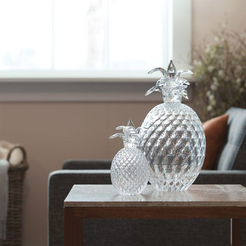 Hand Blown Glass Pineapple - Small